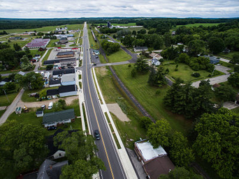 Village of Wausaukee - south aerial view 2017